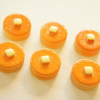 6 pcs Double Pancakes Cabochon  18mm H10mm CD423 by misssapporo
