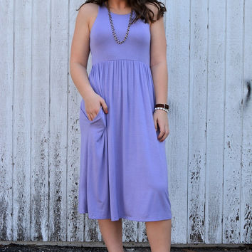 Spring Dream Dress ~ Lavender