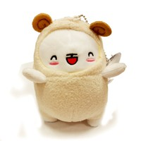 Moongs - Small Size Plush Doll - Ivory Lamb