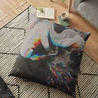'Get Lost' Floor Pillow by DuckyB
