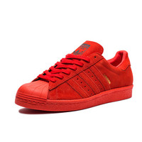 ADIDAS SUPERSTAR 80S CITY - RED | Undefeated