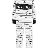 Carter's Baby Boys 2-Pc. Mummy Glow In The Dark Pajamas Set Kids - Pajamas - Macy's