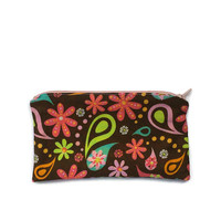 Cloth Make Up Bag, Zippered Make Up Pouch, Cosmetic Case