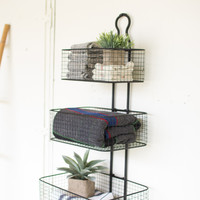 Rory 3-Tier Wall Basket