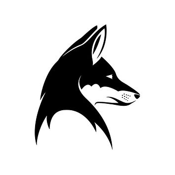 Fox Head (ver c) Die Cut Vinyl Decal Sticker
