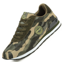 Fashion Lovers Unisex Canvas Shoes Camouflage Military Men Casual Shoes Autumn Breathable Camo Flats Men Chaussure Femme