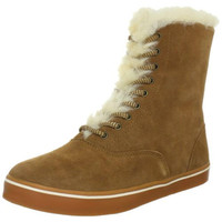 Koolaburra Womens Round Toe Winter Ankle Boots