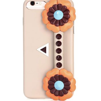 Studded leather IPhone 7 Plus case