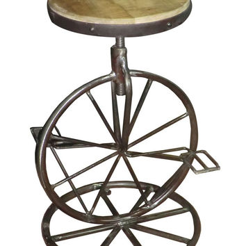 Amara Iron Counter Height Stool Adjustable Height 6494 Free Shipping