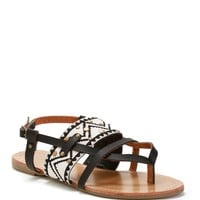 Sale-black Voyager Tribal Sandals