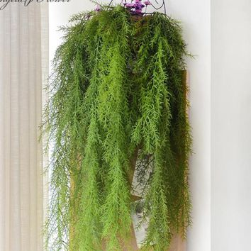 Artificial Wall Hanging Pine Needle Plant