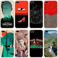 Welcome To Twin Peaks Transparent Hard Thin Case Cover For Apple iPhone 4 4S 5 5S SE 5C 6 6S 7 8 X Plus
