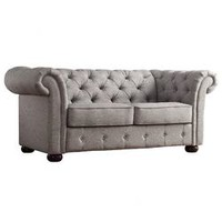 Kingstown Home Carthusia Button Tufted Sofa