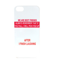 After I Finish Laughing Best Friend Phone Case