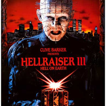 Hellraiser III Movie Poster 11x17