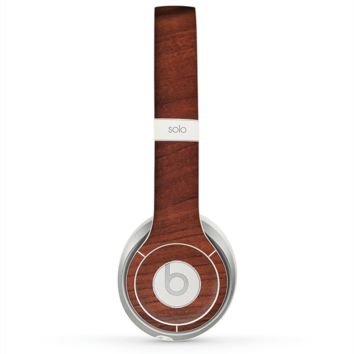 The Raw Wood Grain Texture Skin for the Beats by Dre Solo 2 Headphones