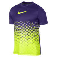 Nike Graphic Gradient Men's Soccer Shirt Size 2XL (Purple)