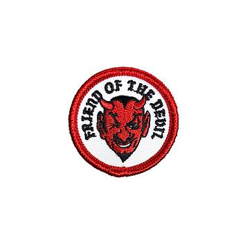 Friend Of The Devil Mini Patch