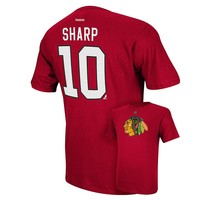 Reebok Chicago Blackhawks Patrick Sharp Player Tee