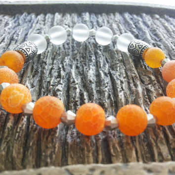 Lava Beaded Bracelet Womens bracelet Beaded jewelry Gemstone bracelet Boho bracelet Bracelet for woman