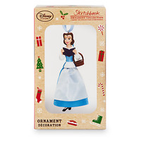 Disney Store Belle Variant Limited 2016 Sketchbook Christmas Ornament New W Box