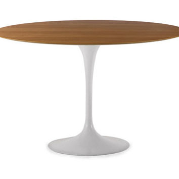 Best Saarinen Dining Table Oval Products On Wanelo - Tulip table wood top