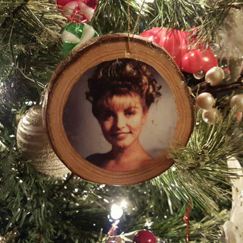 Twin Peaks Laura Palmer Log Christmas Ornament Fan Art