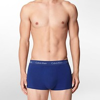 cotton stretch 3-pack low rise trunk | Underwear | Calvin Klein