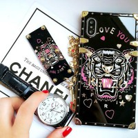 LMFIH3 Gucci print phone shell phone case for Iphone 6/6s/6p/7p/7/8/8p/x
