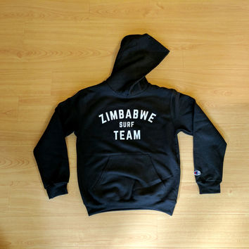 Youth Size** Zim Surf Team Hoodie x Champion