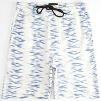 Hurley Poolside Volley Mens Hybrid Shorts - Boardshorts And Walkshorts In One Light Grey  In Sizes