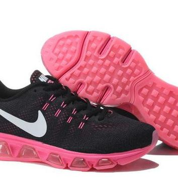 DCCKJG2 Nike Air Max Tailwind Black & Pink Print Sneakers Running Shoes For Women