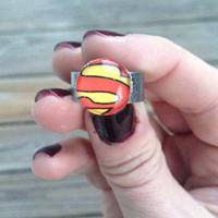 Superman Ring Made from Vintage DC Comic Books by glamMKE on Etsy
