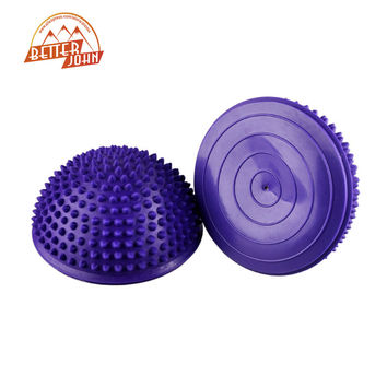 Yoga Half Ball Fitness Equipment Different Colors