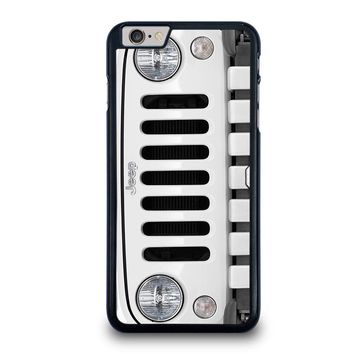 JEEP SILVER iPhone 6 / 6S Plus Case Cover