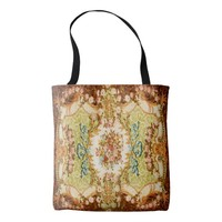 Baroque pattern tote