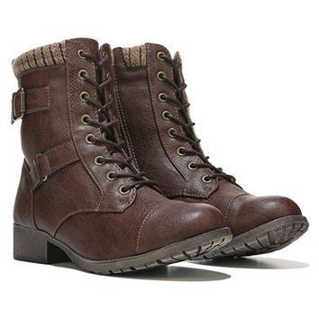 JELLYPOP Len Lace Up Boot Brown
