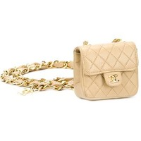 Chanel Vintage Mini Belt Bag - What Goes Around Comes Around - Farfetch.com