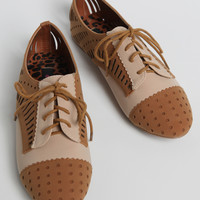 In A Frenzy Cutout Oxfords