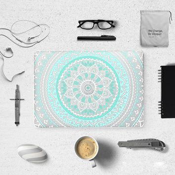 icasso Amazing Unique Mandala Pattern Air 13 11 3D Print Hard Matte Case for MacBook Pro Retina 13 15 Hard Cover Mac Book 12