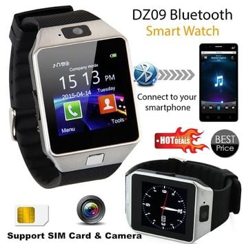 DZ09 U8 Smartwatch Smart Sport SIM Digital Electronics Wrist Phone Watch With Men Women For Apple Android Wach Wearable Devices