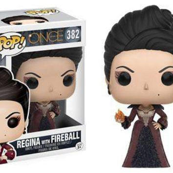Funko Pop TV: Once Upon a Time - Regina with Fireball Vinyl Figure