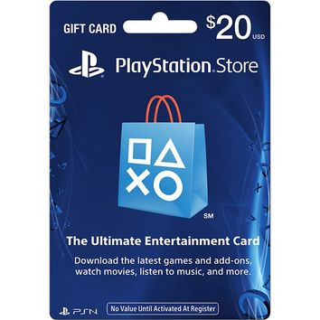 Sony - $20 PlayStation Network Card