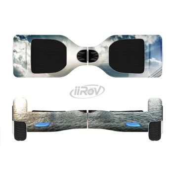The Vivid Cloudy Sky Over The City Skyline Full Body Skin Set for the Smart Drifting SuperCharged Transportation iiRov