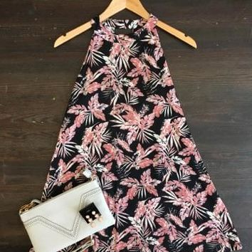 On the Go Floral Print Dress