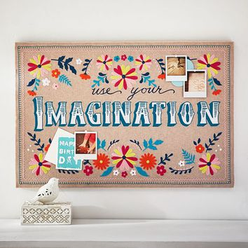 Lennon & Maisy Use Your Imagination Pinboard