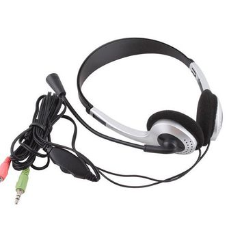 Universal 3.5mm Jack Wired Headphone With Microphone
