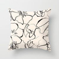 Adore Throw Pillow by Allison Reich