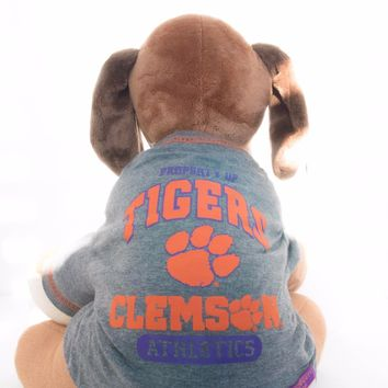 Clemson Tigers Dog Shirt NCAA Officially Licensed Pet Product