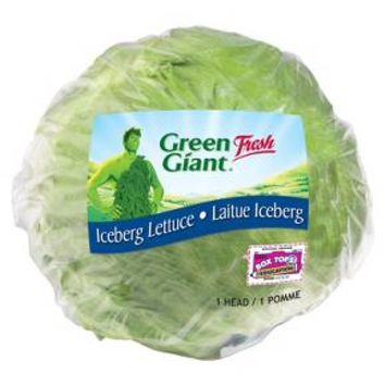 Wrapped Icbrg Lettuce
